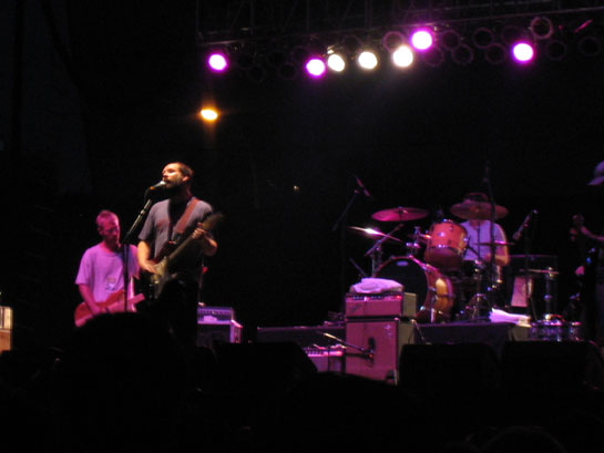 photo: Built to Spill, McCarren Park Pool, 7 July 2007