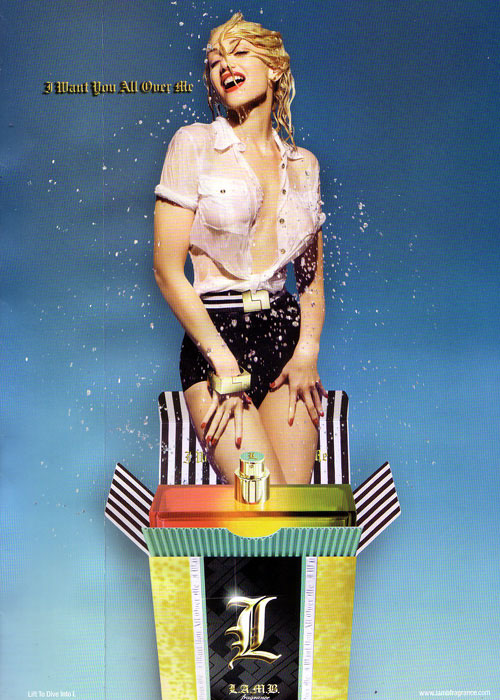 advertisement: Lamb Fragrance, Gwen Stefani