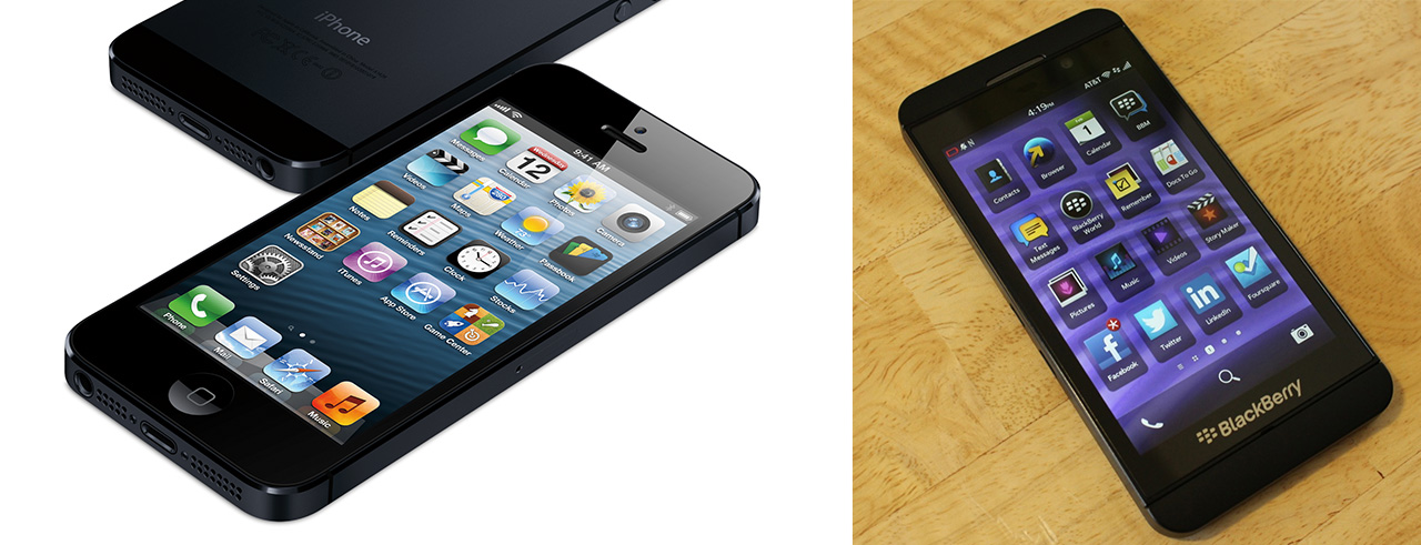 iPhone vs Z10