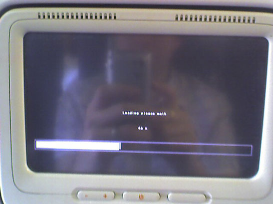Linux bootup screen