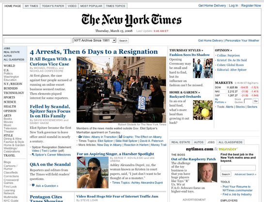 screengrab: NYTimes.com with no ads