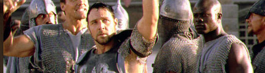 Russell Crowe, New Jersey Gladiator