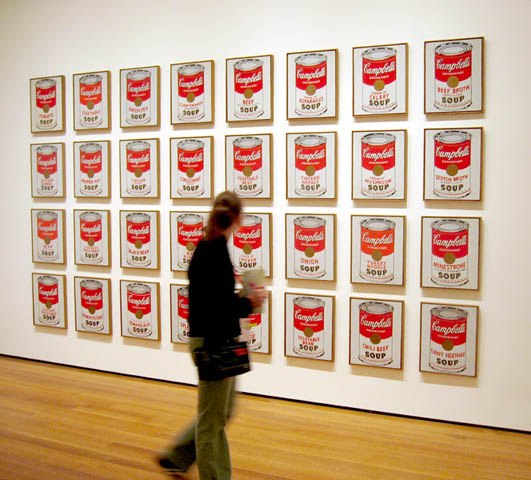 Soup Cans - Andy Warhol