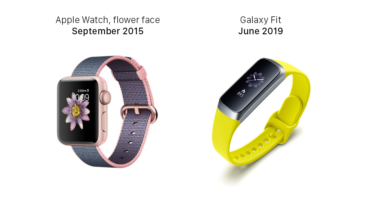 Apple Watch vs Galaxy Fit