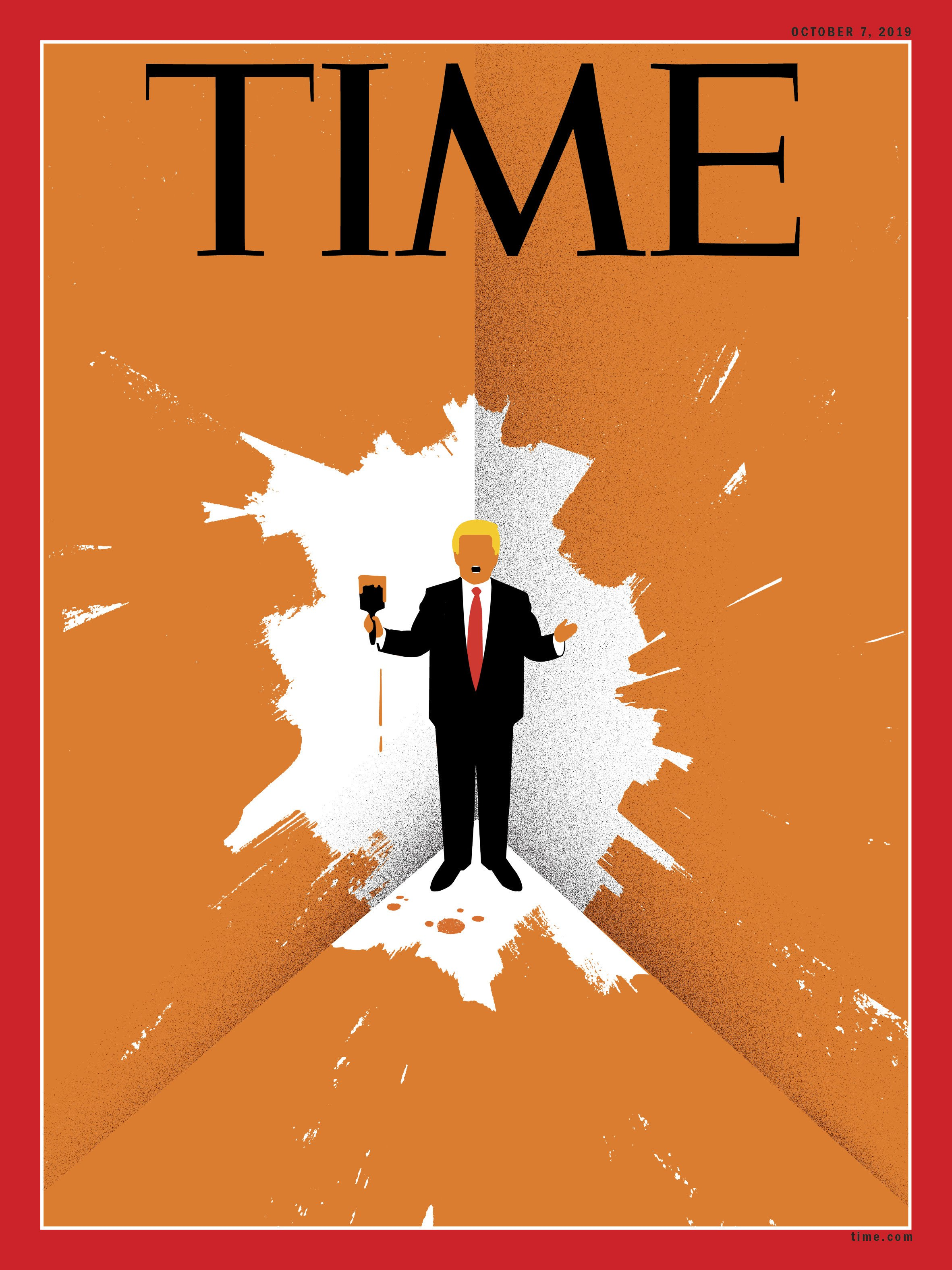 Trump cornered - Time Magazine