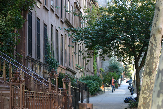 Upper East Side street