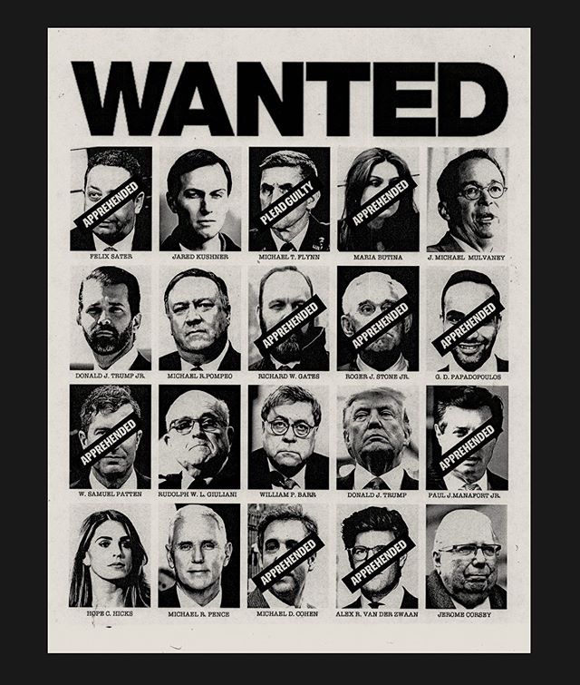 WANTED - Trump Cabinet